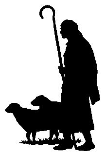 216x320 Pix For Gt Shepherd And Sheep Silhouette Vinyl Ideas