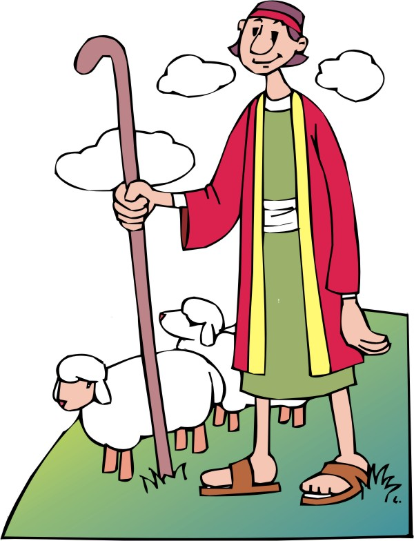 Shepherd And Sheep Clipart | Free download best Shepherd ...