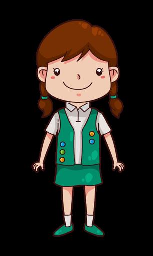 305x511 Girl Wearing A Sheriff Badge Clip Art Girl Wearing A Sheriff Id 38