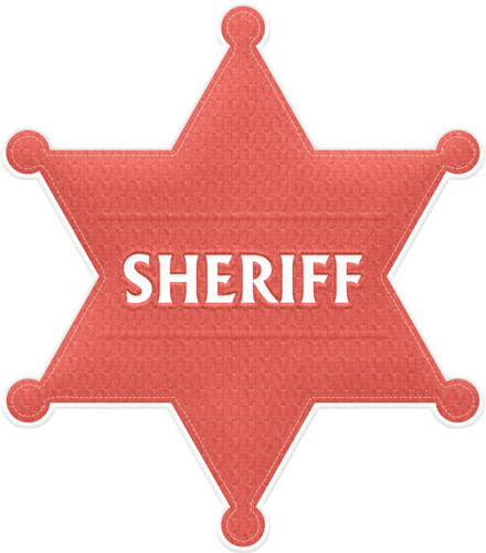 440x500 Red Sheriff Clipart Sheriff, Clip Art And Album