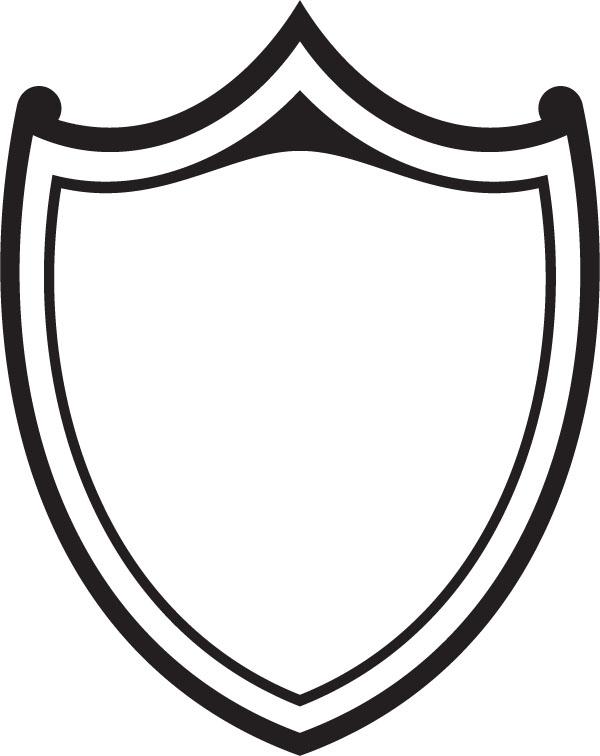 600x756 Shield Clipart