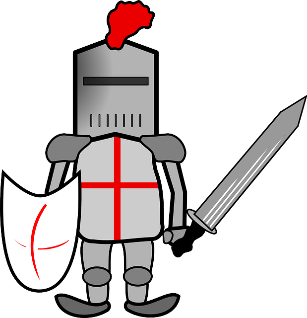 619x640 Sword Clipart Crusader