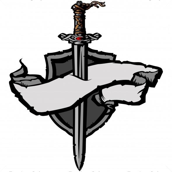 590x590 Viking Clip Art Logo