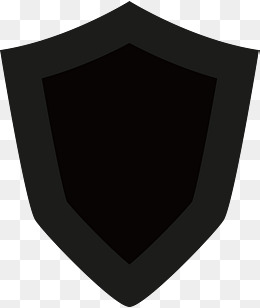 260x308 Black And White Shield, Flat Shield, Shield Vector Png And Vector