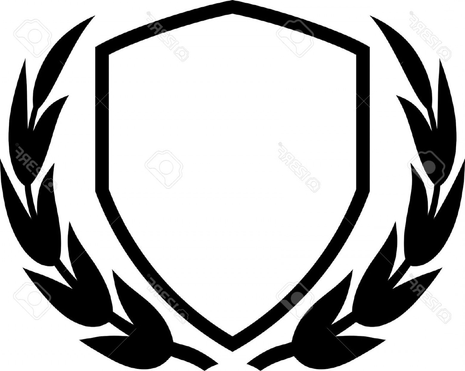 1560x1245 Shield Outline Clipart