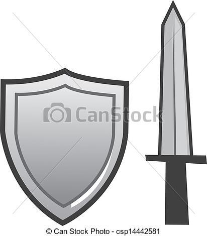 412x470 Gray Clipart Shield
