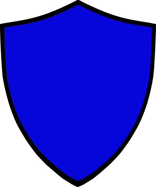 498x595 Shield Blue Clip Art