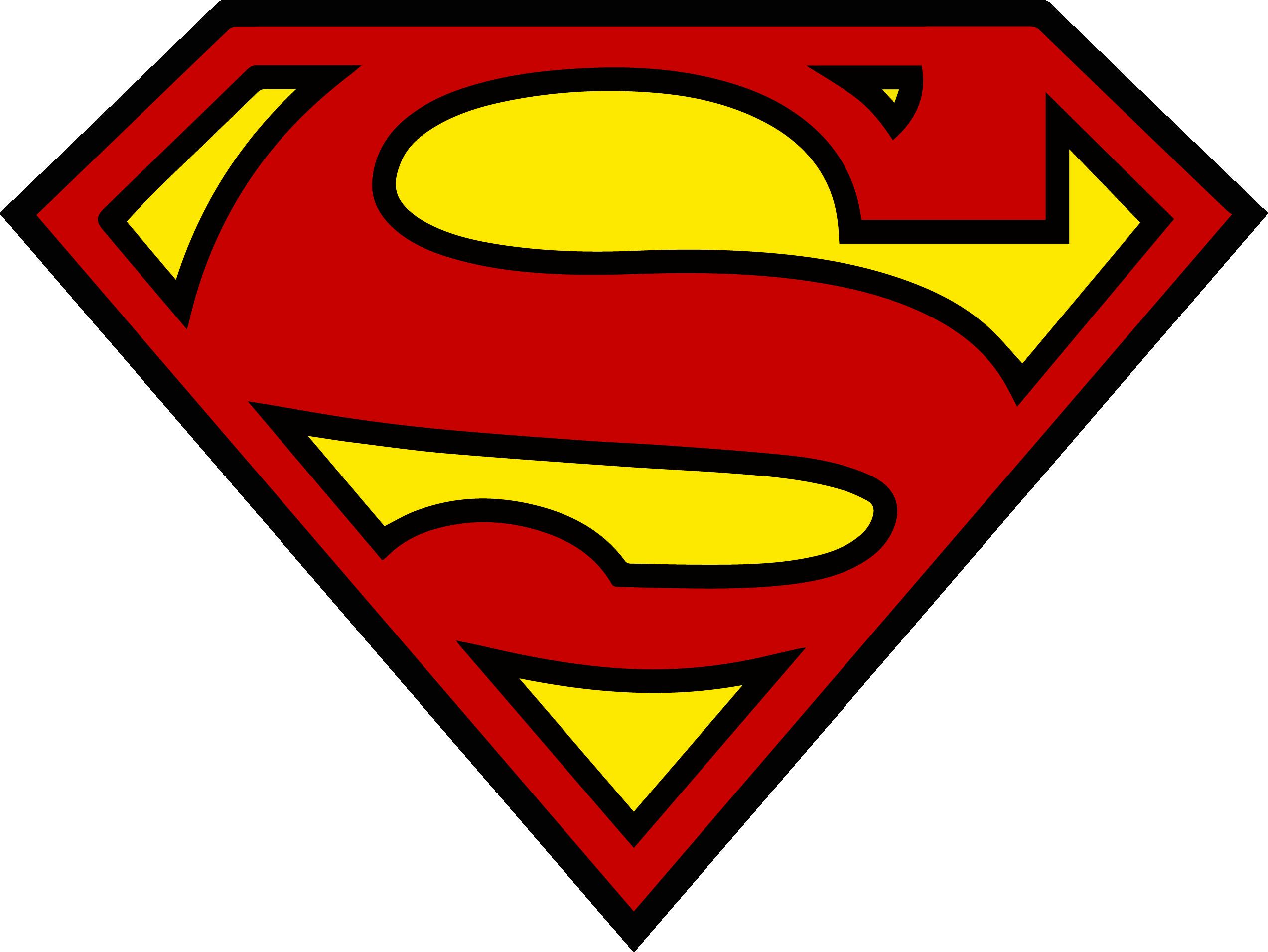 2545x1910 Superman Shield Logo Clip Art