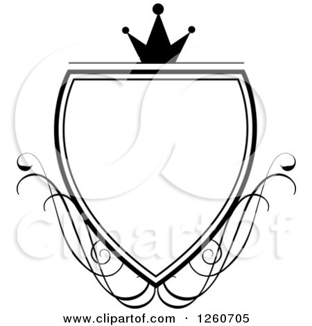 450x470 Shield Clipart Elegant