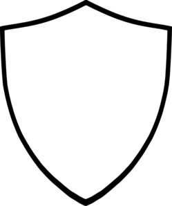 249x298 Shield White Clip Art