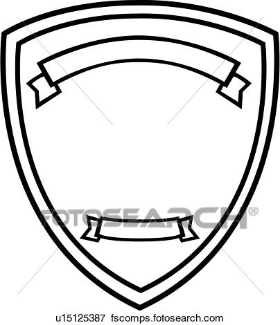 404x470 Clip Art Of , Badge, Department, Fire, Plaque, Fire Department