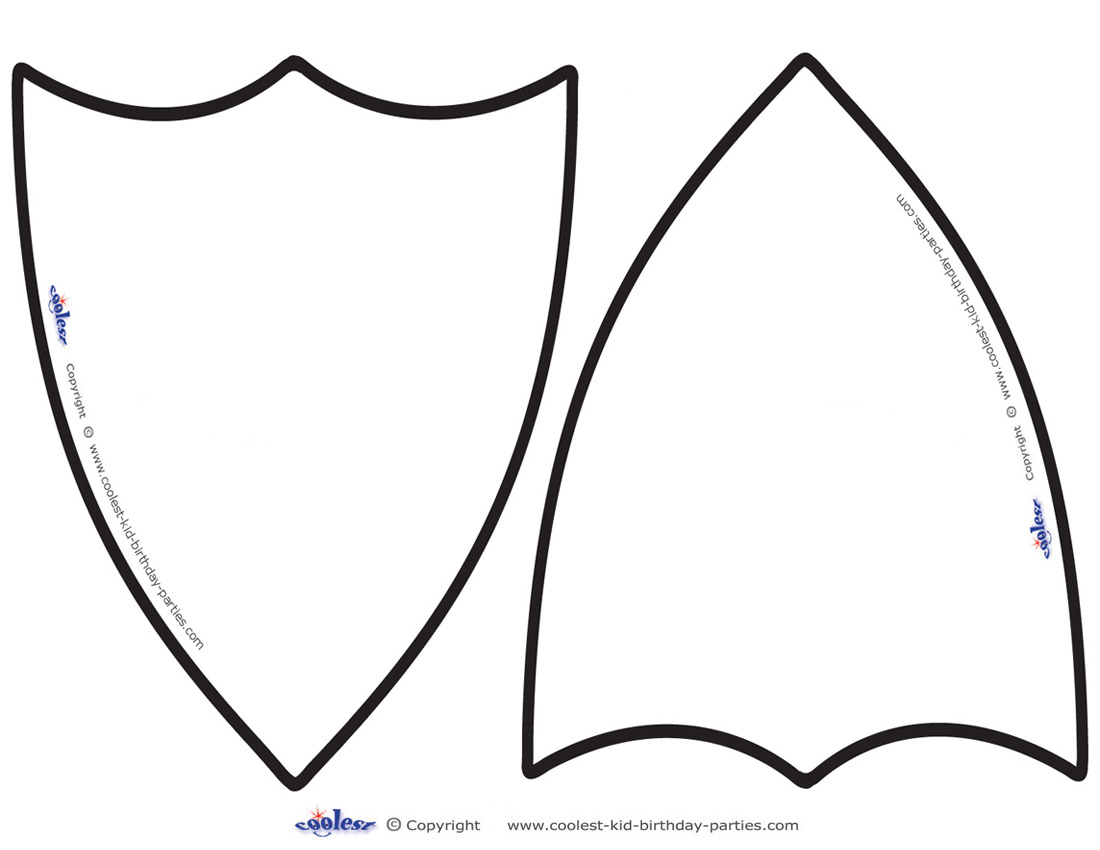 1100x850 Shield Template Clipart