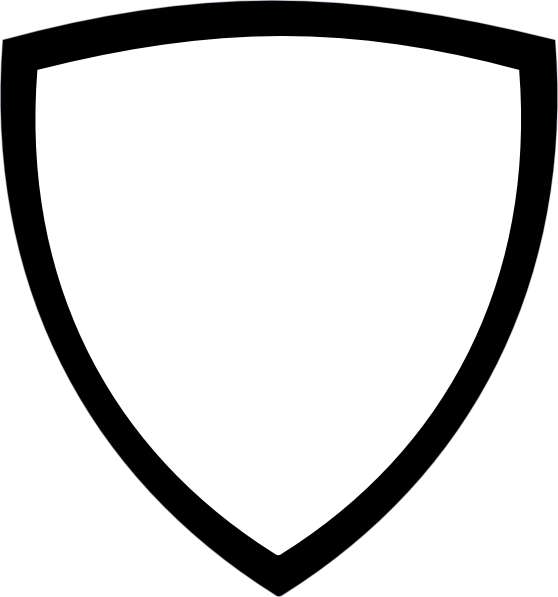 558x597 Black Shield Cliparts 181289