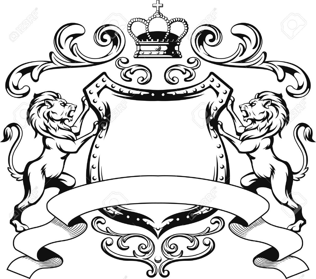 1300x1146 Crest Lion Clipart, Explore Pictures