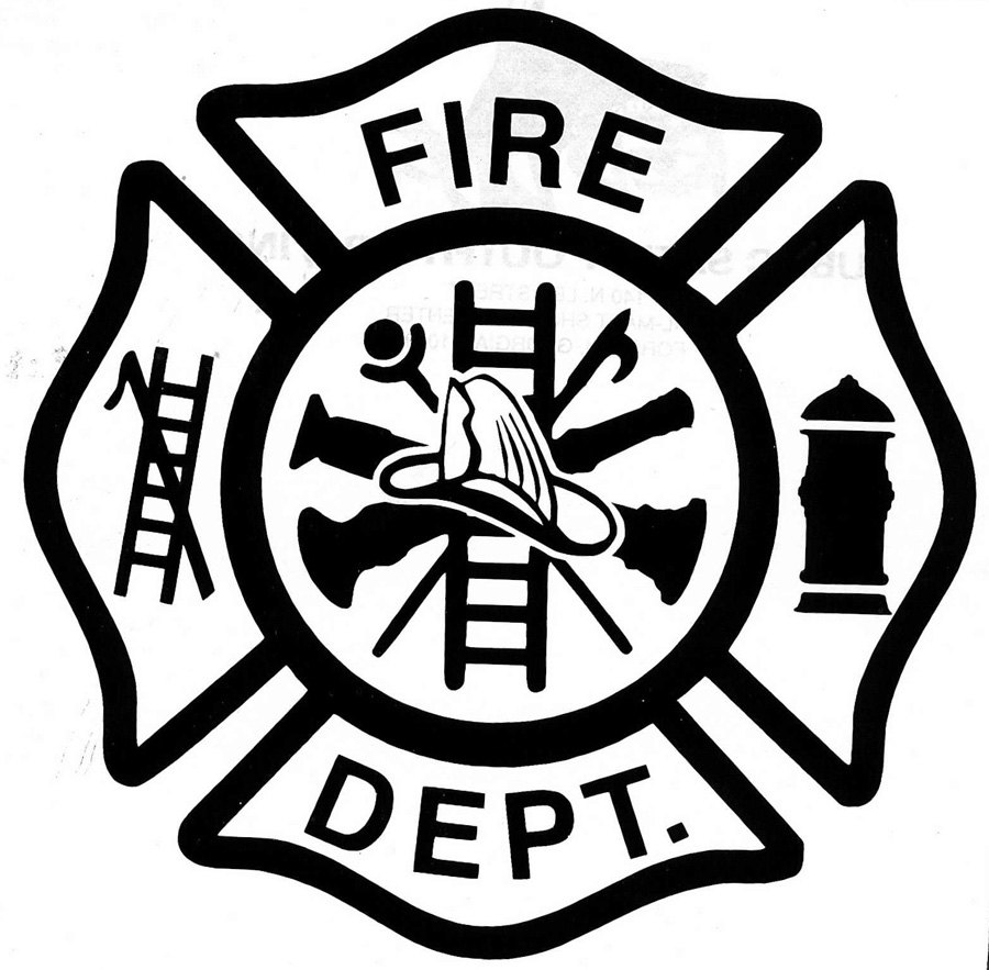 900x883 Fire Department Shield Clipart