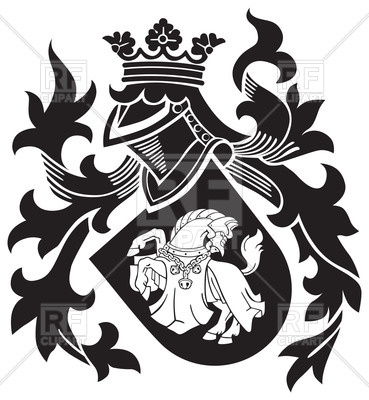 369x400 Medieval Heraldic Emblem