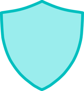 276x299 New Blue Crest Shield Clip Art