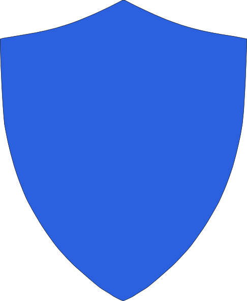 486x594 Royal Blue Crest Clip Art