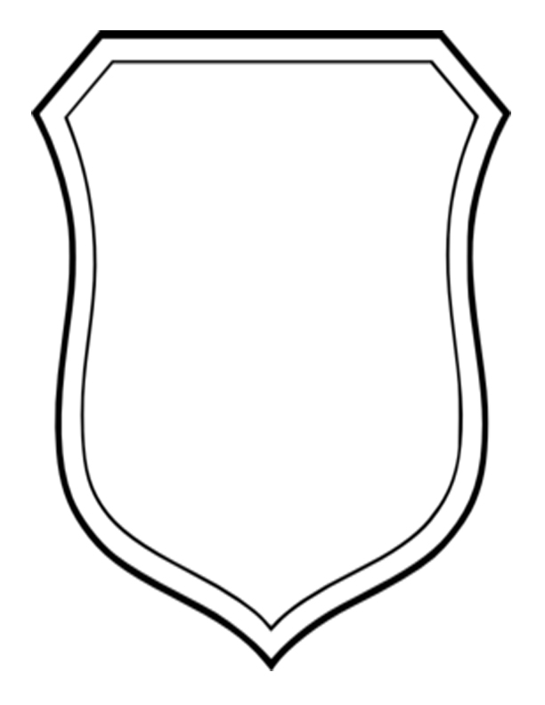 612x792 Shield Clipart Family Crest