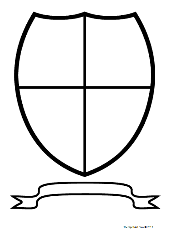 545x760 Use This Coat Of Arms Worksheet As An Artistic Prompt. Clients
