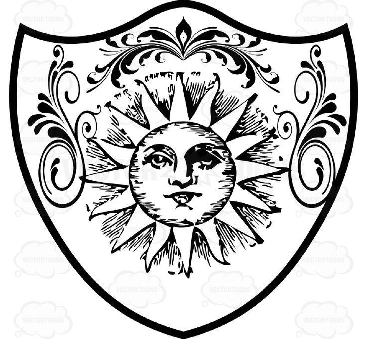 736x680 Shield Clipart Sun, Explore Pictures