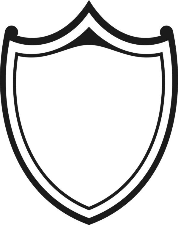599x756 The Best Shield Drawing Ideas Shield Design