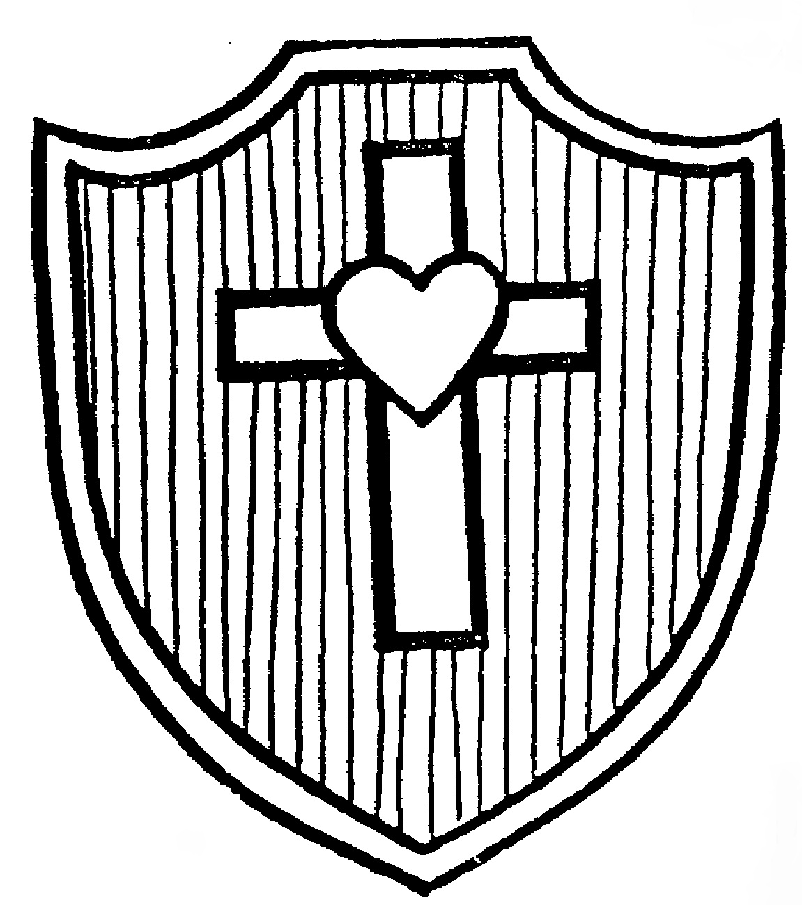 1151x1300 Shields Of Faith Shield Of Faith Coloring Page