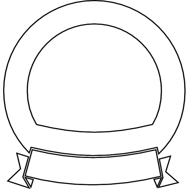 660x660 SHIELD OUTLINE VECTOR GRAPHICS