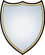 150x186 Shield Outline Clipart