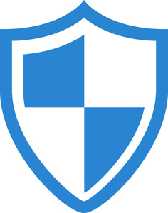 236x300 Virus Protection Shield Simplicity Icon Royalty Free Stock Image