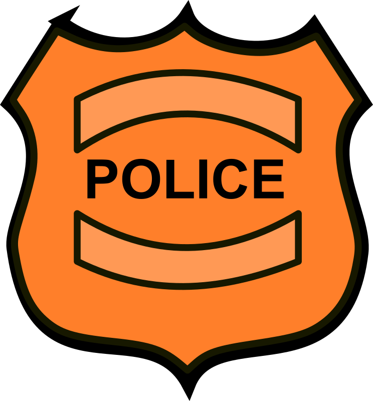744x800 Free Police Shield Clipart Image