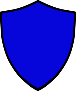 249x298 Shield Blue Png, Svg Clip Art For Web