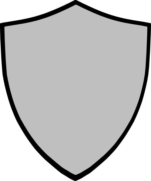 498x595 Shield Clipart Gray