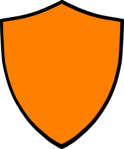 249x298 Shield Orange Clip Art