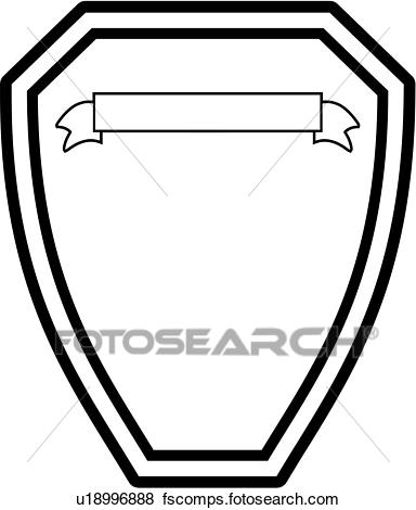 384x470 Clip Art Of , Badge, Department, Fire, Plaque, Fire Department