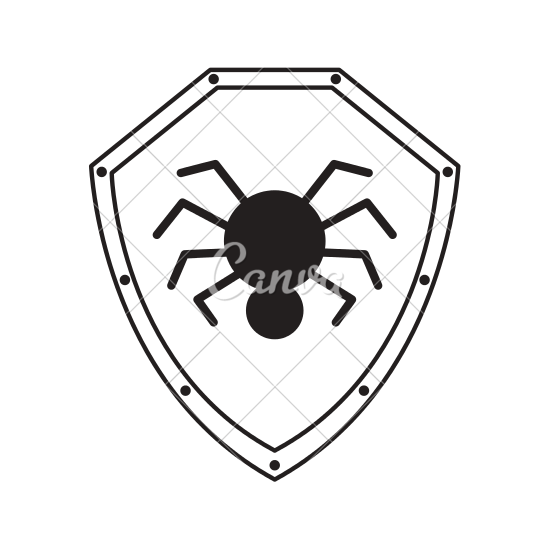 550x550 Shield Security Isolated Icon