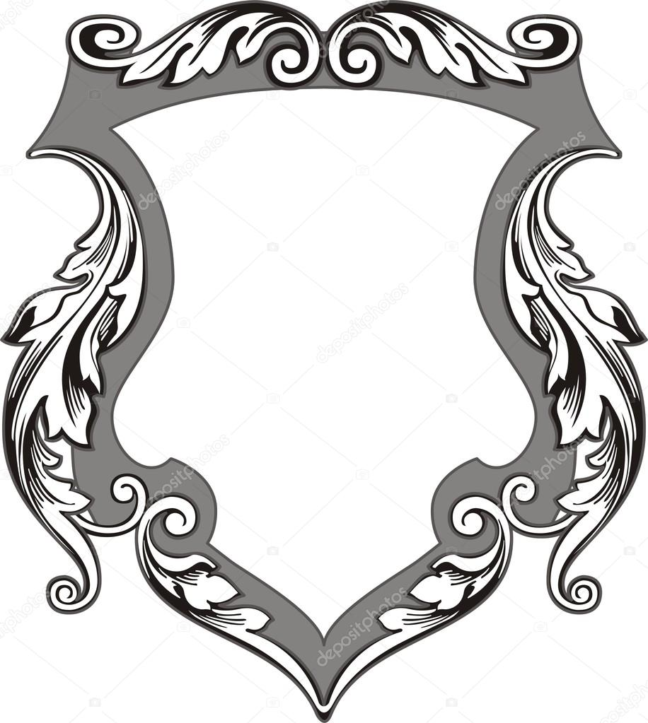 916x1023 Vector Shield Stock Vector Surryia