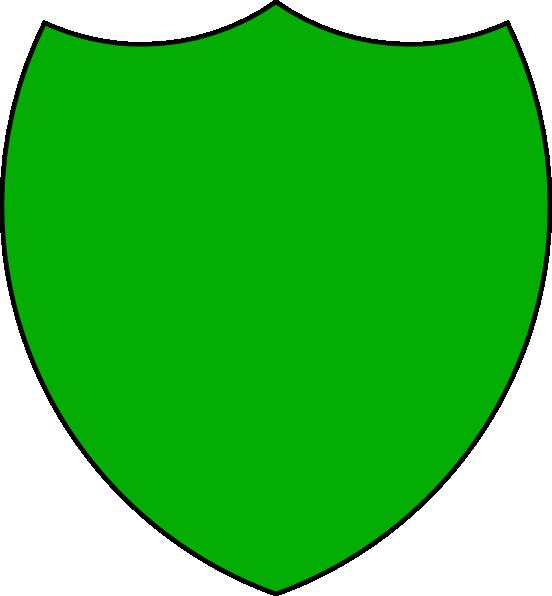 552x596 Shield Outline Clip Art