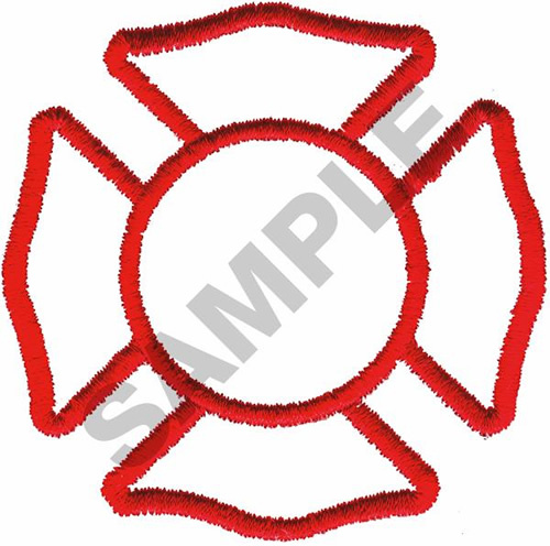 500x496 Outlines Embroidery Design Fire Shield Outline From Great