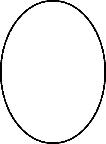 438x596 Oval Outline Clip Art