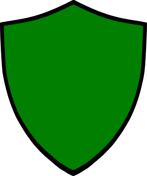 498x595 Shield Green Clip Art