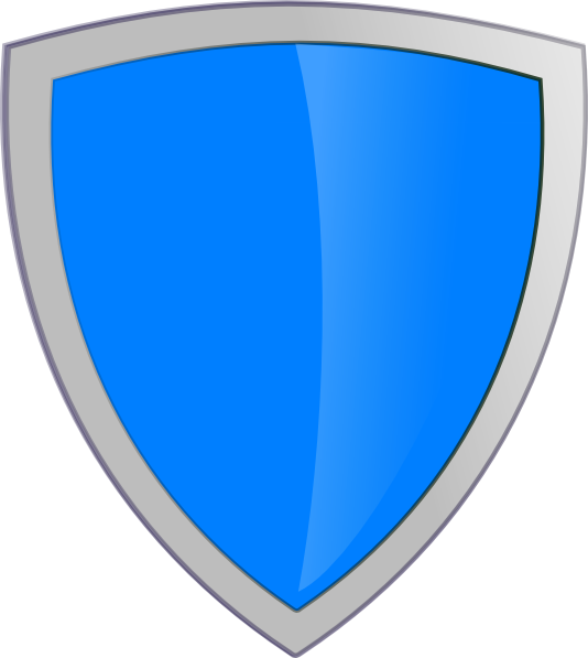 534x597 Blue Security Shield Clip Art