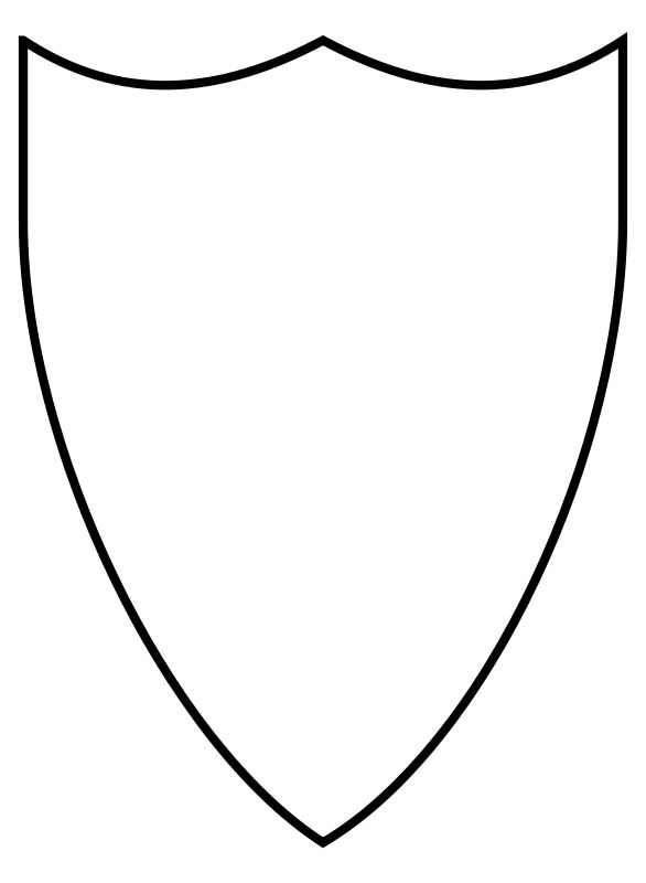 Shield Template Clipart