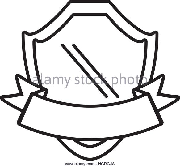 583x540 Empty Blank Emblem Badge Shield Stock Vector Images