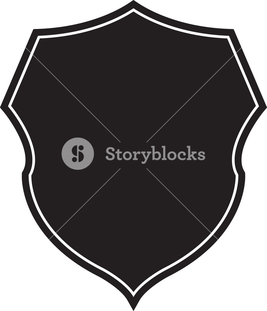 857x1000 Shield Vector Element Royalty Free Stock Image