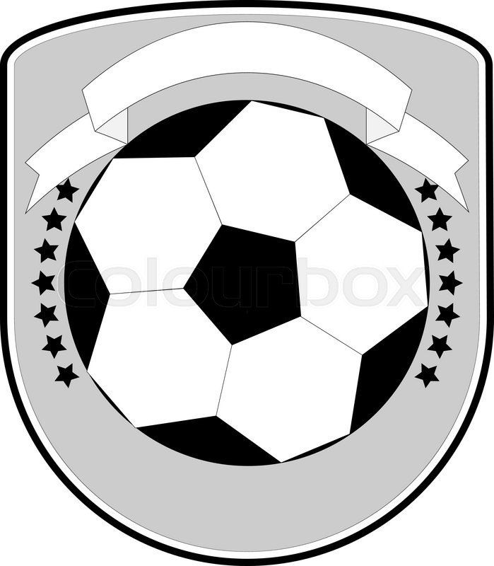 699x800 Soccer Logo Football Team. Sport Tournament, Badge Or Label