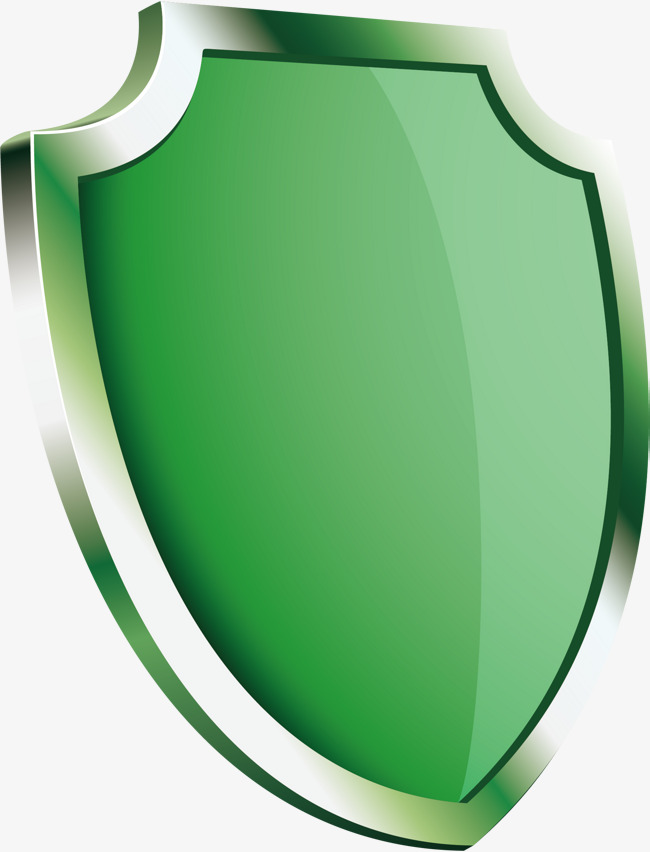 650x852 Shield Png Vector Element, Shield Vector, Green, Environmental