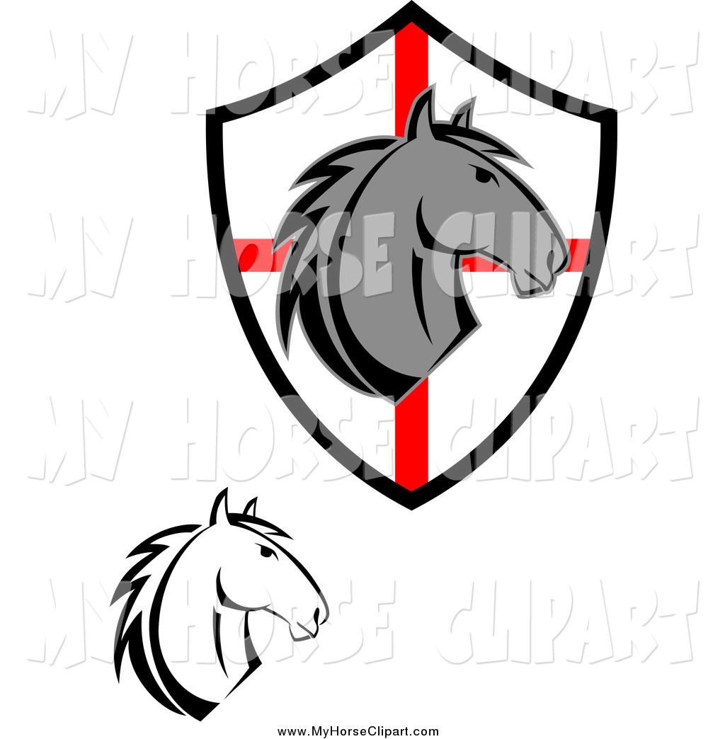 1024x1044 Royalty Free Stock Horse Designs Of Shields