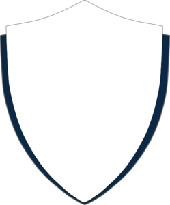 249x299 Navy Gray Shield Clip Art