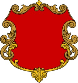 250x266 Simplistic Shield 1 for Custom Coat of Arms HERALDRY